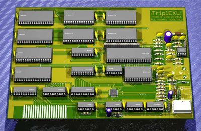 TripleX : Universal Interface Vintage Computer (UIVC) for EXELVISION French Vintage Computer