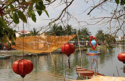 Le centre, à Hoï An et Da Nang