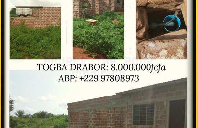 Maison à Calavi Togba Drabor  Kpèvi
