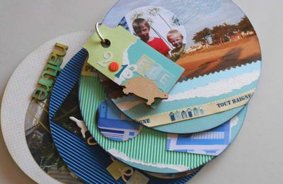 ATELIER MINI-ALBUM SCRAPBOOKING