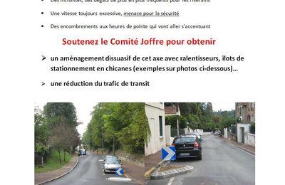 Constat alarmant sur l'axe rue du Maréchal Joffre