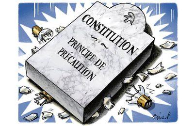 Le principe de précaution sur le Figaro