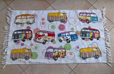 Customiser un tapis en coton