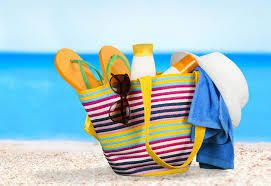 Les indispensables de plage ! The beach essentials!