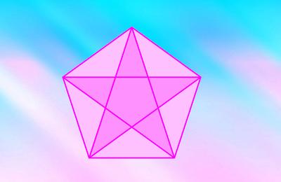 La géométrie du nombre 5