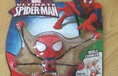 Araignée Spiderman chenille murale