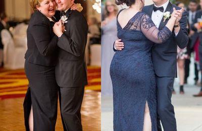 Achat sur la belle tenue pour les mères des mariés