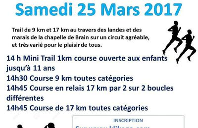 Trail de La Chapelle de Brain