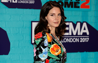 Lana Del Rey aux MTV Europe Music Awards à Londres, Royaume-Uni. (12.11.2017)