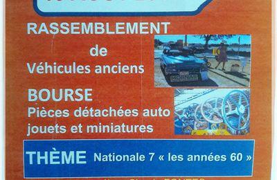 RASSEMBLEMENT DE VEHICULES ANCIENS 84550 MORNAS