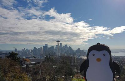 Le Pingouin à Seattle !!