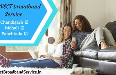 connect broadband service in chandigarh
