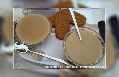 Crème dessert aux biscuits bastogne au companion thermomix ou autres robots