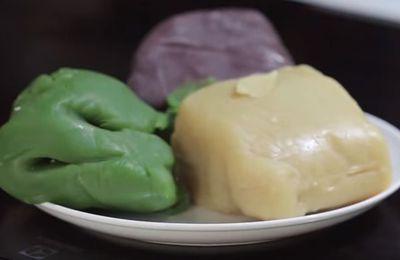 Bánh trung thu ngon và đẹp mắt với 3 màu hấp dẫn