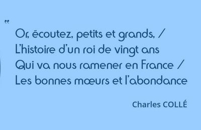 Citation Charles Collé
