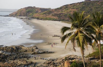 Vagator Beach Goa Tour Destination