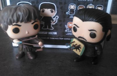 Nouvel arrivage Funko pop Game of Thrones!