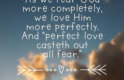 Die Furcht des Herrn kam über uns