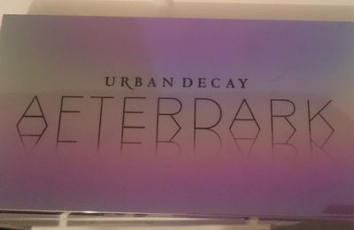 Swatches Palette Afterdark Urban Decay