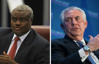 INTERNATIONAL : Les ennuis d'Idriss Deby avec les Américains remontent depuis l'affaire Moussa Faki avec Rex Tilerson, le secrétaire d'Etat américain