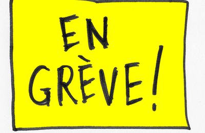 Grève à Charenton-le-Pont mardi 6 décembre 2016
