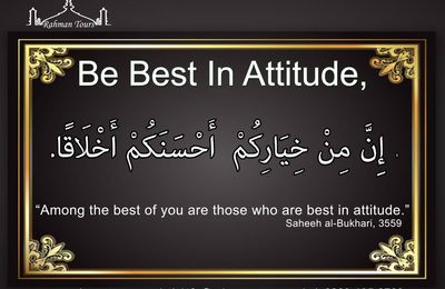 Be Best In Attitude