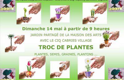TROC DES PLANTES - Edition 2017