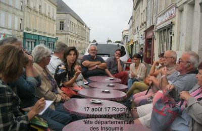 Insoumis Rochelais - préparation de la fête départementale