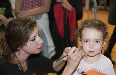 ANIMATION MAQUILLAGE HALLOWEEN