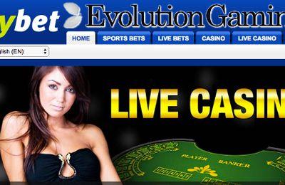 Les jeux de casino en direct Evolution Gaming débarquent sur le site MyBet