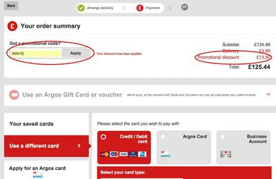 Using Argos Promo Codes Can Save You a Lot of Money Every Time you Shop