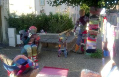 Sculptures de tricot