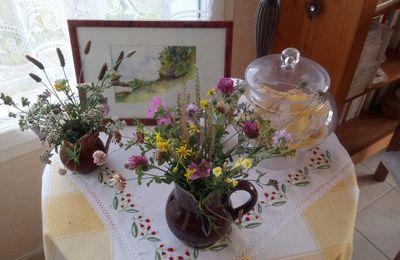 Début d'automne et dernières fleurs de la saison