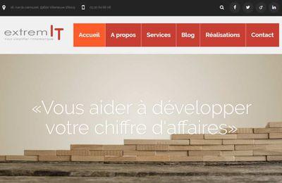 [WEB] Nouveau site : extremIT digital