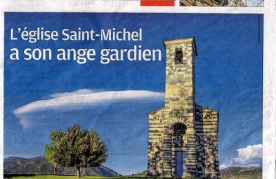 """Pascal Magnan, """"Ange Gardien"""" de l'Eglise Saint Michel de Murato et Président du Festival du Film De Murato"""