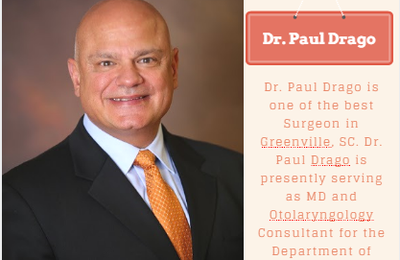 Get In Touch With Otolaryngologist Dr. Paul C Drago for ENT Problems