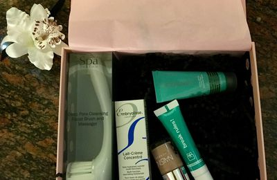 Glossybox janvier 2017 : Simply beautiful