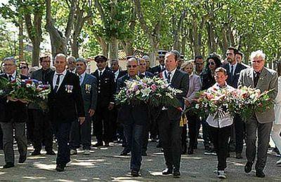 Cérémonie du 08 MAI 2017, Visite du Bunker 638,  Remise de Diplôme et Médaille de Porte-Drapeau