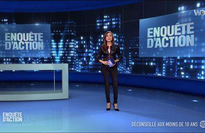 Marie-Ange Casalta Enquête d'Action W9 le 20.01.2017