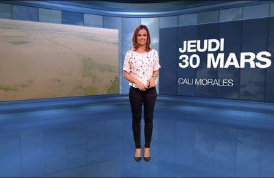 Cali Morales Météo M6 le 30.03.2017