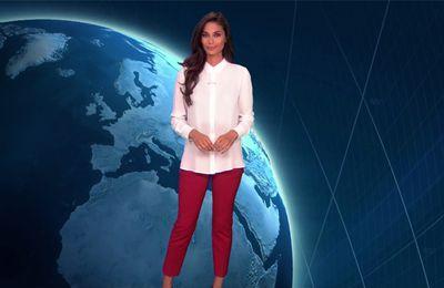 Tatiana Silva Météo TF1 le 26.04.2017