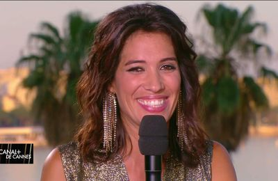 Laurie Cholewa Canal+ de Cannes Canal+ le 23.05.2017