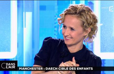 Caroline Roux C Dans l'Air France 5 le 23.05.2017