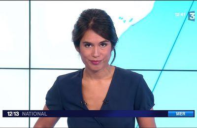 Emilie Tran Nguyen Le 12/13 France 3 le 21.08.2017
