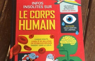 100 infos insolites sur le corps humain - Usbornes