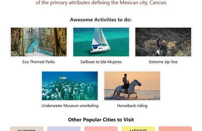 Things to do in Cancún Beaches
