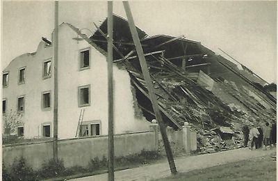 Cyclone dans le Jura Bernois - 12 juin 1926 - La Chaux près Les Breuleux