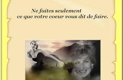 Citation en image de Lady Diana Frances Spencer