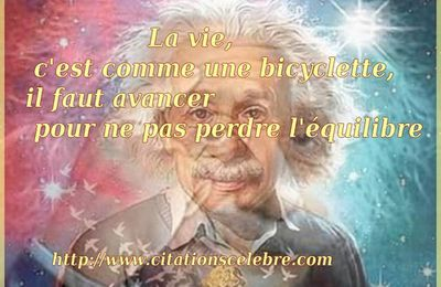 Citation d'Albert Einstein