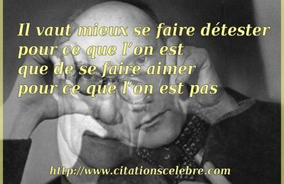 Citation d'André Gide